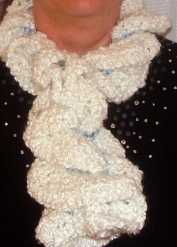 crochet cloud scarf
